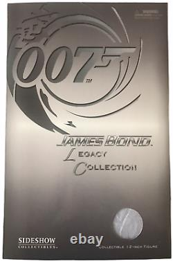 Sideshow James Bond 007 Legacy Collection Sean Connery 12Action Figure NEW 2006