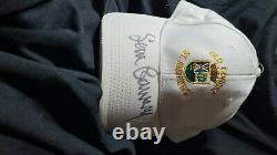 Sir Sean Connery hand signed Old course St. Andrews golf cap. James Bond 007