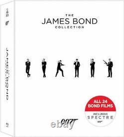 The James Bond Collection Blu-ray 24-Disc Box Set Sean Connery Daniel Craig