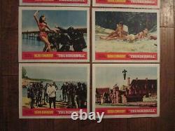 Thunderball 1965 Lobby Card Set Sean Connery James Bond