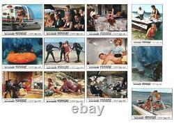 Thunderball James Bond 007 / Sean Connery -rare Original French Lobby Card Set