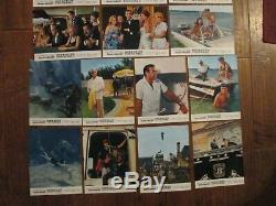 Thunderball Original 1965 Lobby Cards Sean Connery James Bond