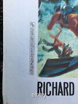 Thunderball Original Italian 2 Fogli RR Movie Poster James Bond Sean Connery