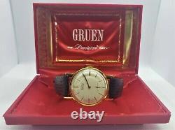 Vintage Gruen Precision 510, James Bond 007 First Watch, Sean Connery, in box