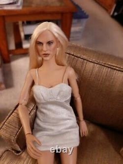 Vintage James Bond Doll 007 Sean Connery With Bond Girl On Custom Made Couch