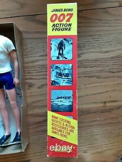 Vintage1965 Gilbert #16101 007 James Bond / Sean Connery Action Figure With Box