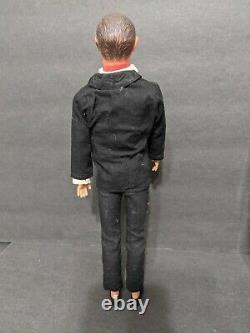 Vtg 1965 Ideal 007 James Bond Action Figure Doll 12 Sean Connery
