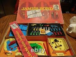 Vtg 1966 Ideal Message From M James Bond board game 007 rare sean Connery 60s