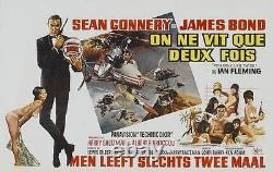 YOU ONLY LIVE TWICE JAMES BOND Belgian movie poster R72 SEAN CONNERY 007 NM