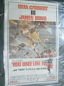 YOU ONLY LIVE TWICE POSTER INDIA JAMES BOND 007 IAN FLEMIN SEAN CONNERY original