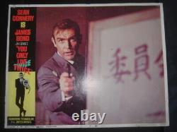 You Only Live Twice 1967 Sean Connery James Bond 007 Original 11x14 Lobby Card