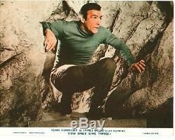You Only Live Twice 8x ORIGINAL FOH 8x10 stills Sean Connery James Bond