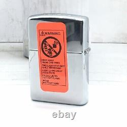 Zippo Lighter 007 James Bond Sean Connery You Only Live Twice 1996 NIB Sealed